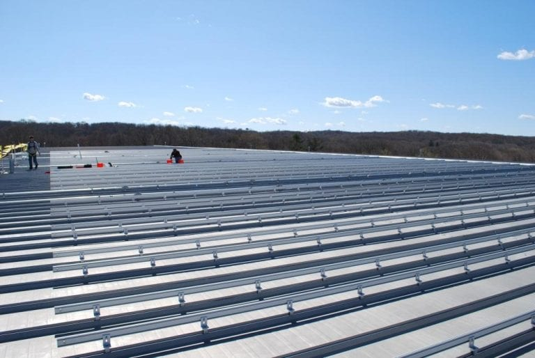 Commercial-Solar-Aluminum-Roof Installers Connecticut
