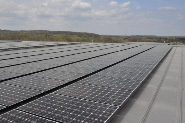 Installing 225-kW-Solar-Array Connecticut