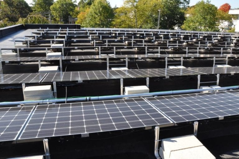Ballasted-Solar-Racking-System Commercial Solar Installers Connecticut