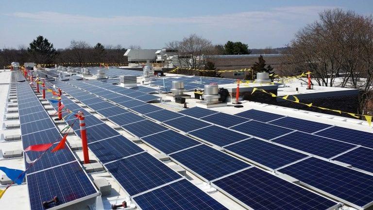 Fairfield-CT-350kw Solar Energy Installer Commercial | Sun-Wind Solutions | Connecticut