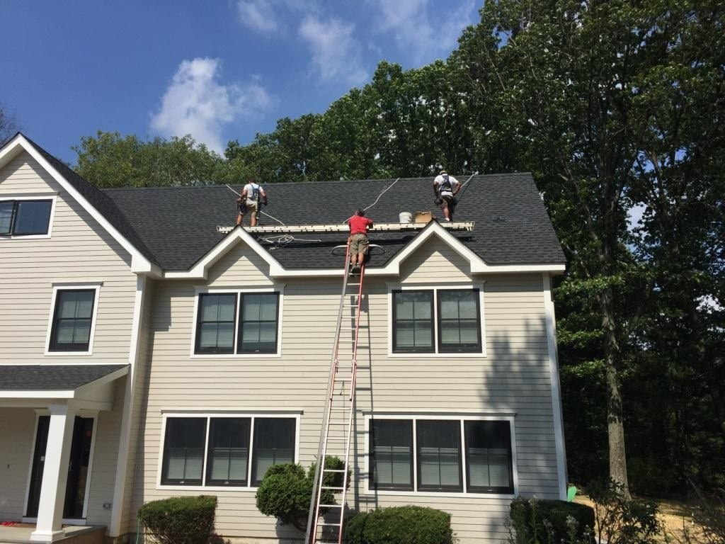 Home Solar Power Installation-On-Steep-Roof Connecticut