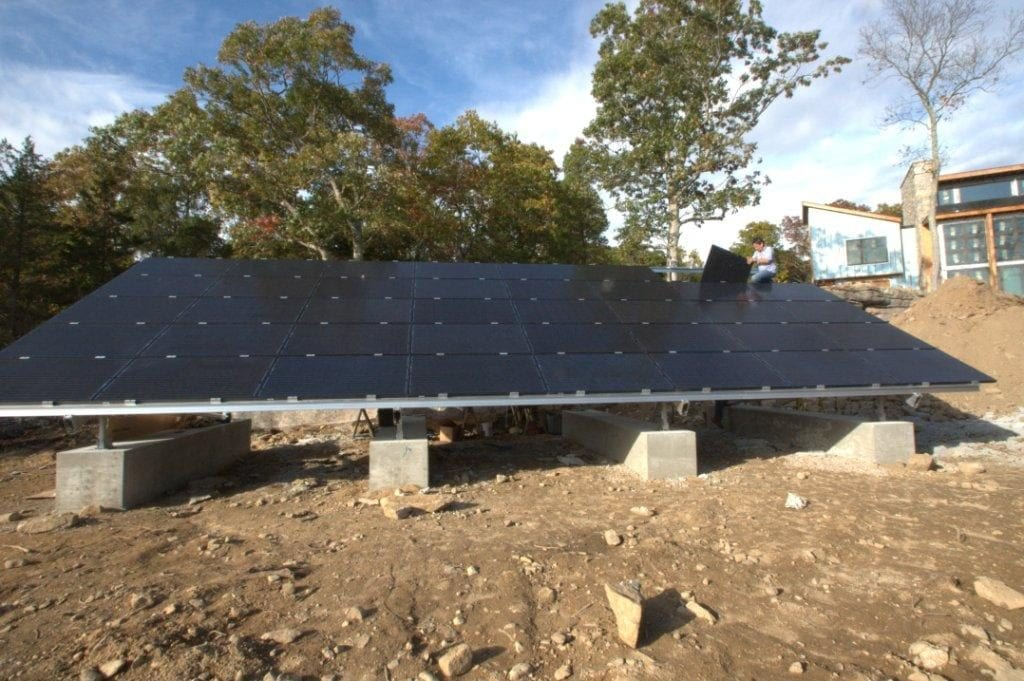Home Ballasted-Solar-Ground-Mount Installer Connecticut