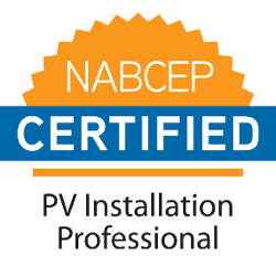 North American Board of Certified Energy Practitioners (NABCEP) PV Installation Professional Seal