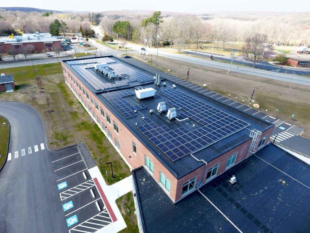 North Stonington HS Installation for Solar Developers