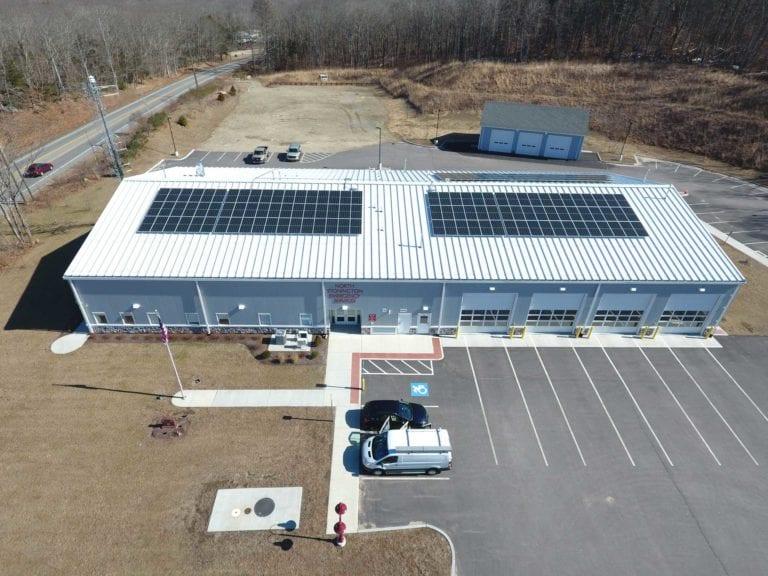 North Stonington EMS Sun-Wind Solutions - Greenskies Renewable Energy Developer