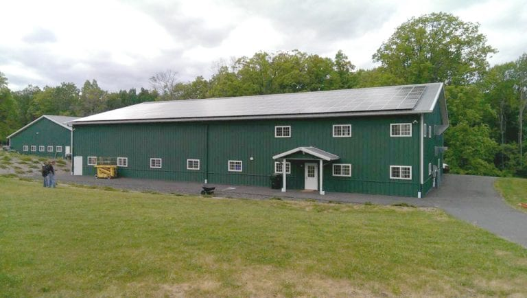 Commercial Solar-Installation-On-Barn New London, CT