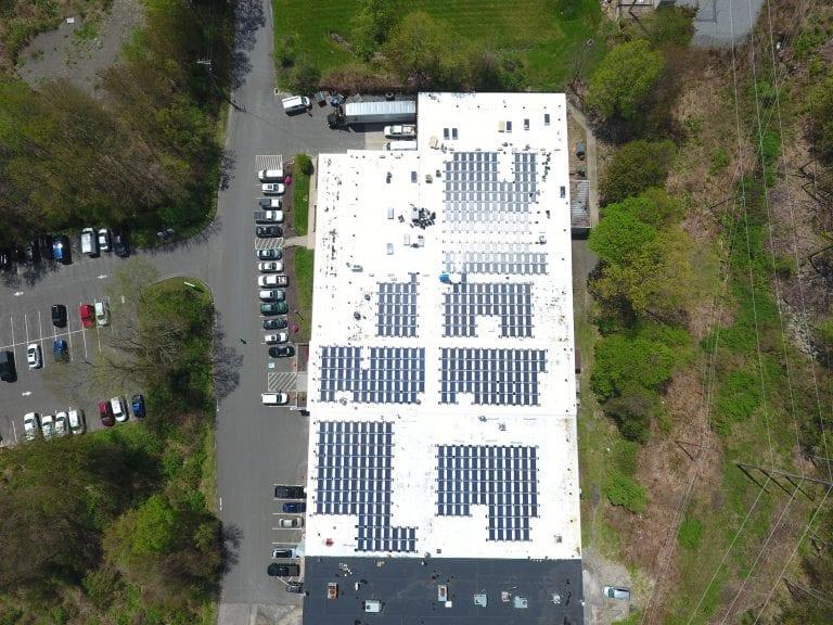3 Simm Lane Newtown Ct/ 659 panels /Installer Sun Wind Solutions / Developer 64 Solar