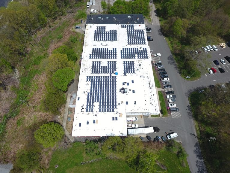 3 Simm Lane Newtown Ct/ 659 panels /Installer Sun Wind Solutions / Developer 64 Solar