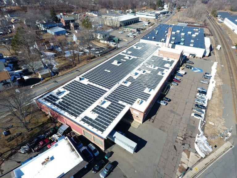 Pyramid time clocks Merriden Ct./ 925 panels/ Installer Sun Wind Solutions/ Engineering plans by Sunrise Solar Consulting